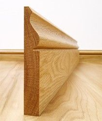 Ogee Solid European Oak Skirting Board