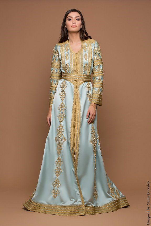 11ba69152a Nadia Boutaleb Caftan Haute Couture Casablanca | Food in 2019 ...