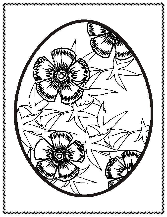 easter spring coloring pages - photo#29