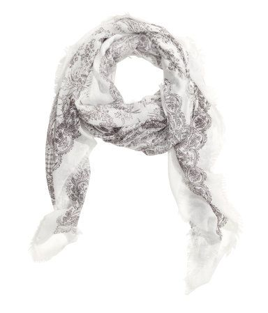 Product Detail | H&M SA  Patterned scarf SR 59