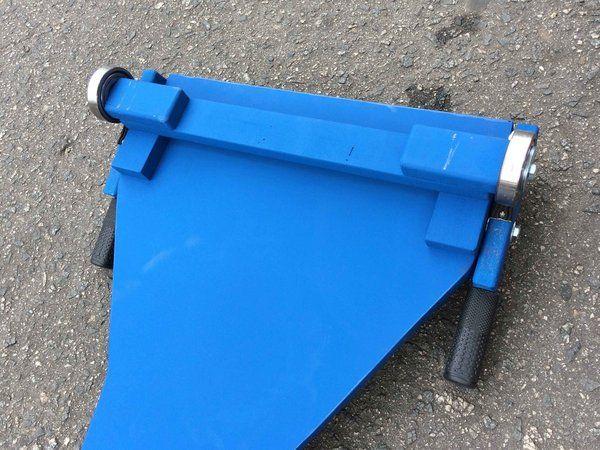 Carrinho de Rolimã Mod F1 Azul c/ Freio no Rolamento - Mlk de Rua