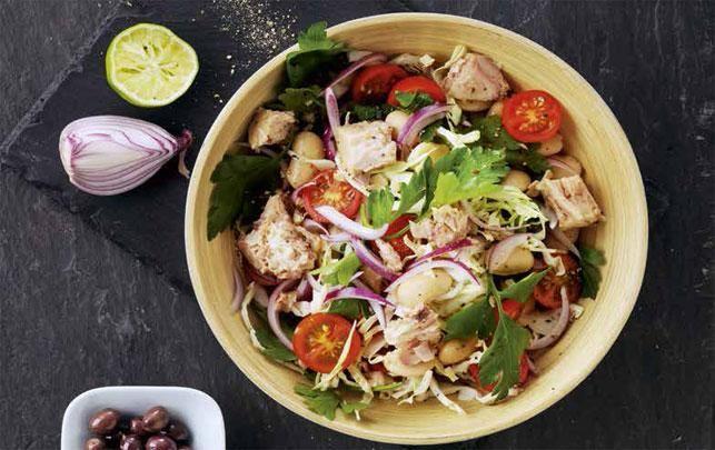 Spansk salat - fit living