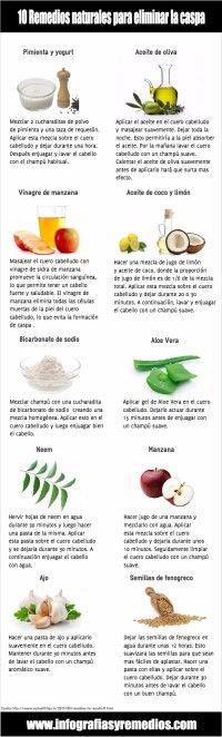 remedios caseros para la caspa