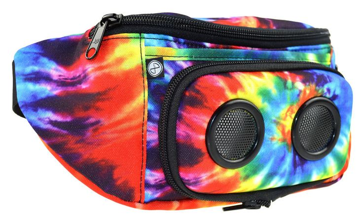 Tie Dye JammyPack | Fanny Pack with Speaker | Beach Accessory | Festival Bag | Beach Bag | Beach Speaker | www.shopdirty30.com