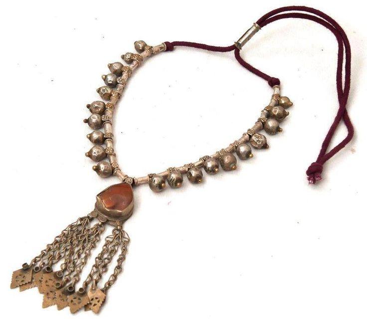 Super gave Vintage Banjara Oude Hand gemaakte Ketting uit India. Vintage Handwerk,India.Banjara, de Zigeuners van India. Te koop op facebook:Tibetaanse sieraden.