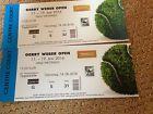 #Ticket  Gerry Weber Open 2 Tickets/Karten Di. 14.06. #deutschland