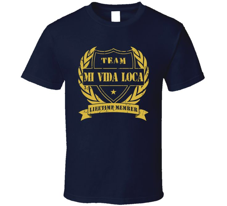 Johnny Tapia Team Mi Vida Loca Lifetime Member Boxing T Shirt