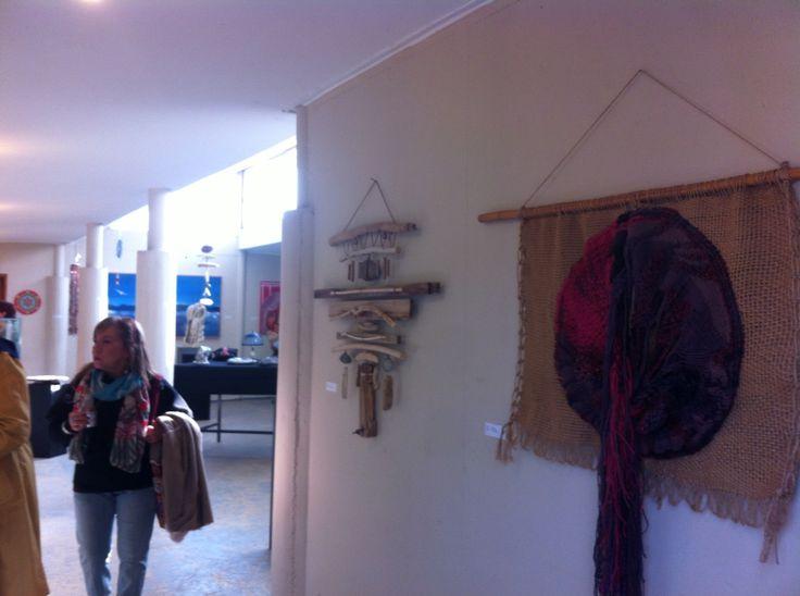 Exponiendo en La aldea El Encuentro, La Reina, Santiago.