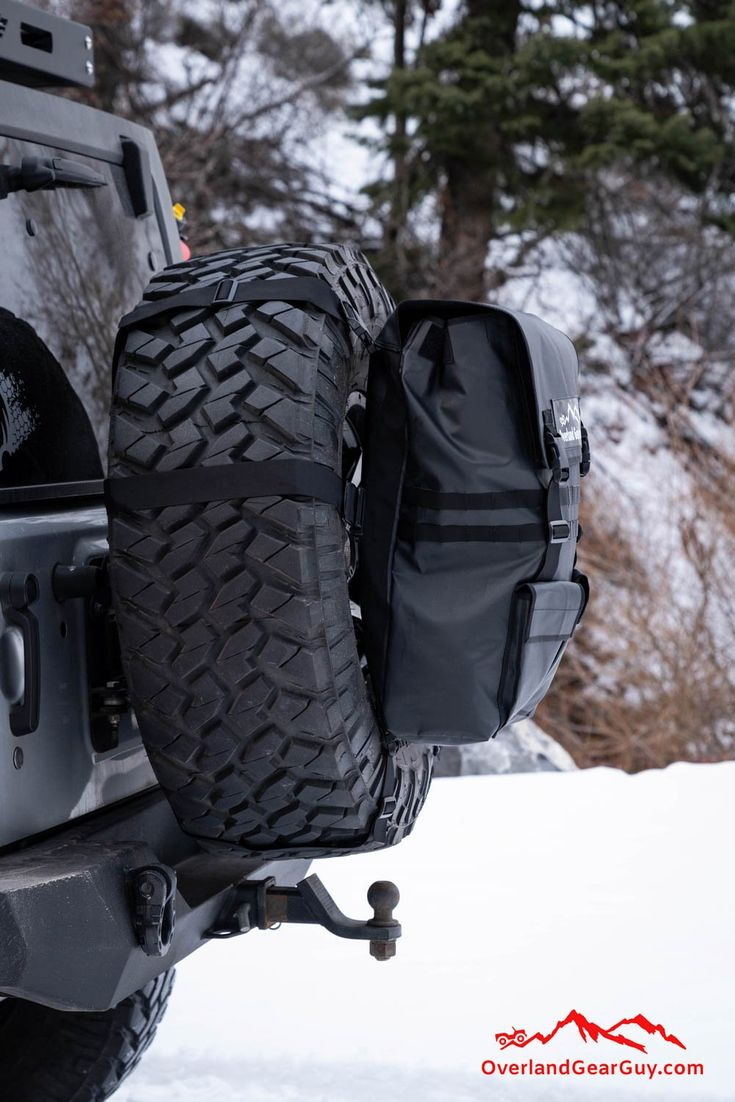 Spare Tire Trash Bag By Overland Gear Guy Jeep Wrangler Trash Bag Jeep Wrangler Accessories Wrangler Accessories Jeep Wrangler
