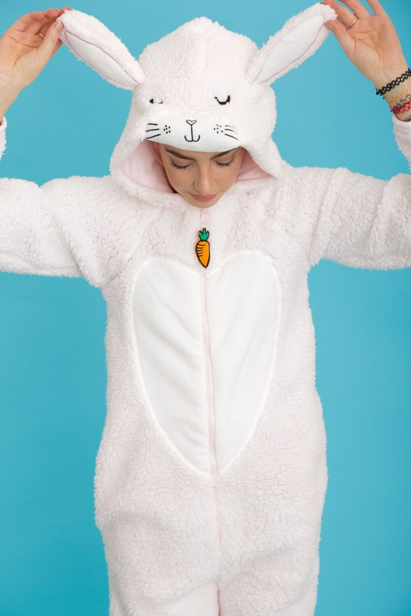 Bella the Pink Bunny Rabbit Onesie | Primark AW15