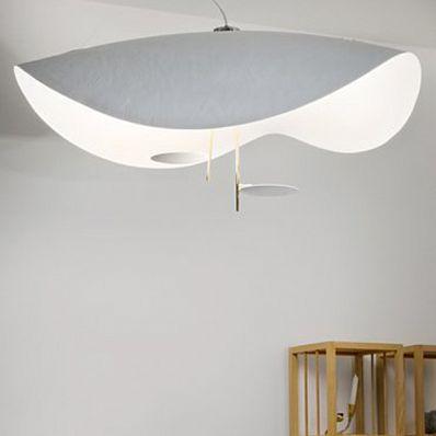 Светильник подвесной Catellani & Smith Lederam S2, белый/золотой  #Catellani&Smith  #Lederam