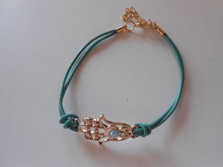 Blue Envy Hand Bracelet. www.highmoda.eu
