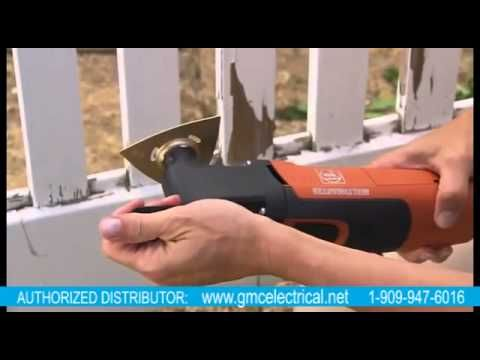 FEIN Multi-MASTER APPLICATIONS & ACCESSORIES.mp4 - YouTube