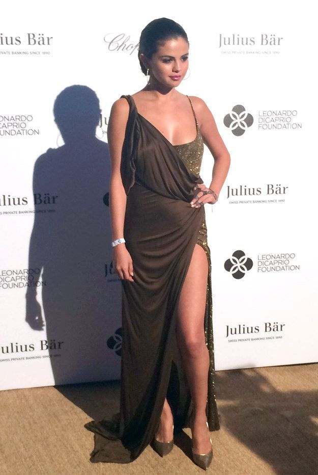 When her dress made you question if she was an actual Greek goddess: | 13 Times Selena Gomez Slayed The Red Carpet
