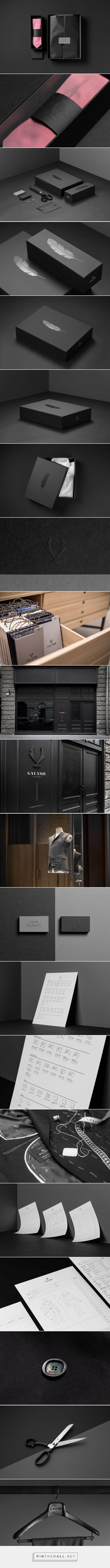 Galamb Tailoring  - Packaging of the World - Creative Package Design Gallery - http://www.packagingoftheworld.com/2016/08/galamb-tailoring.html