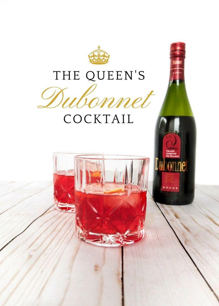 The Queen's Dubonnet Cocktail | Elle Talk