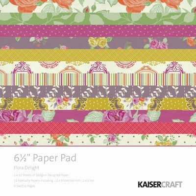 Flora Delight Paper Pad 6.5