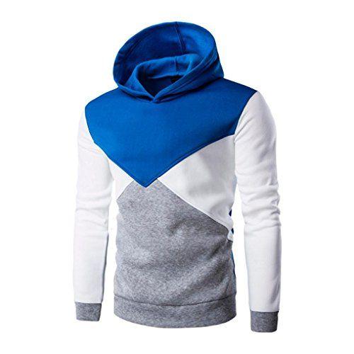 Muranba Mens Winter Warm Fleece Hooded Zipper Outwear Coat