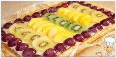 Tarta de Hojaldre con Frutas y Crema Pastelera