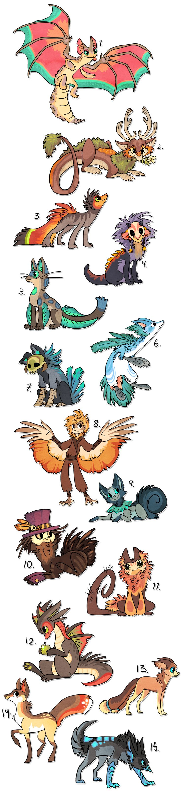 list of mythical creatures pdf