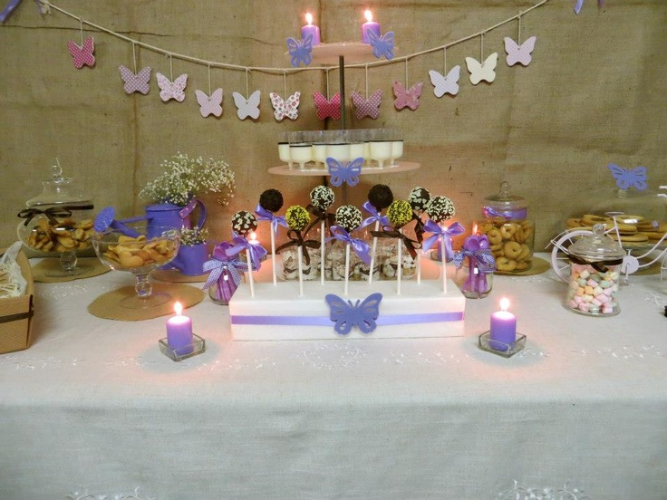 Butterfly Party table