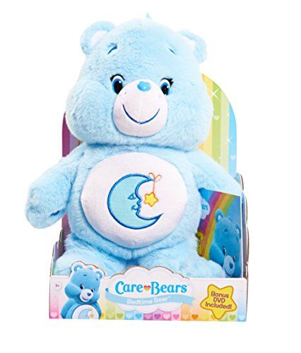 Toys For Bedtime : Care bears bedtime medium plush with dvd http