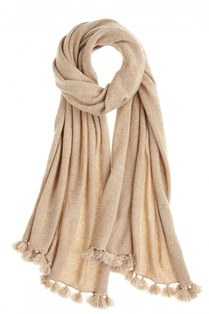 a dreamy combination of lurex and cashmere from @Kristen Kyslinger St. Barth