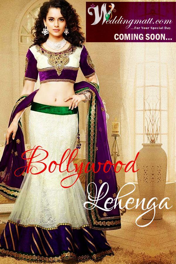 Bollywood #Lehenga We Are Coming Very Soon #WeddingMatt #WeddingCollection Coming Soon:- http://weddingmatt.com/