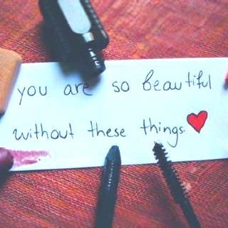 Beautiful Without Makeup Quotes | Saubhaya Makeup