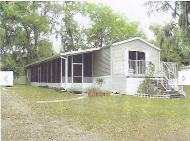 Mobile Home Remodeling Ideas 10x40 Addition On Side And Replaced Front Window With Sliding Glass Mobile Home Porch Mobile Home Addition Manufactured Home Porch