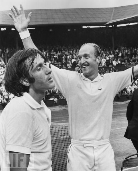 Ilie Nastase vs Stan Smith  Wimbledon Final 1972  The first I saw and one of the best I remember