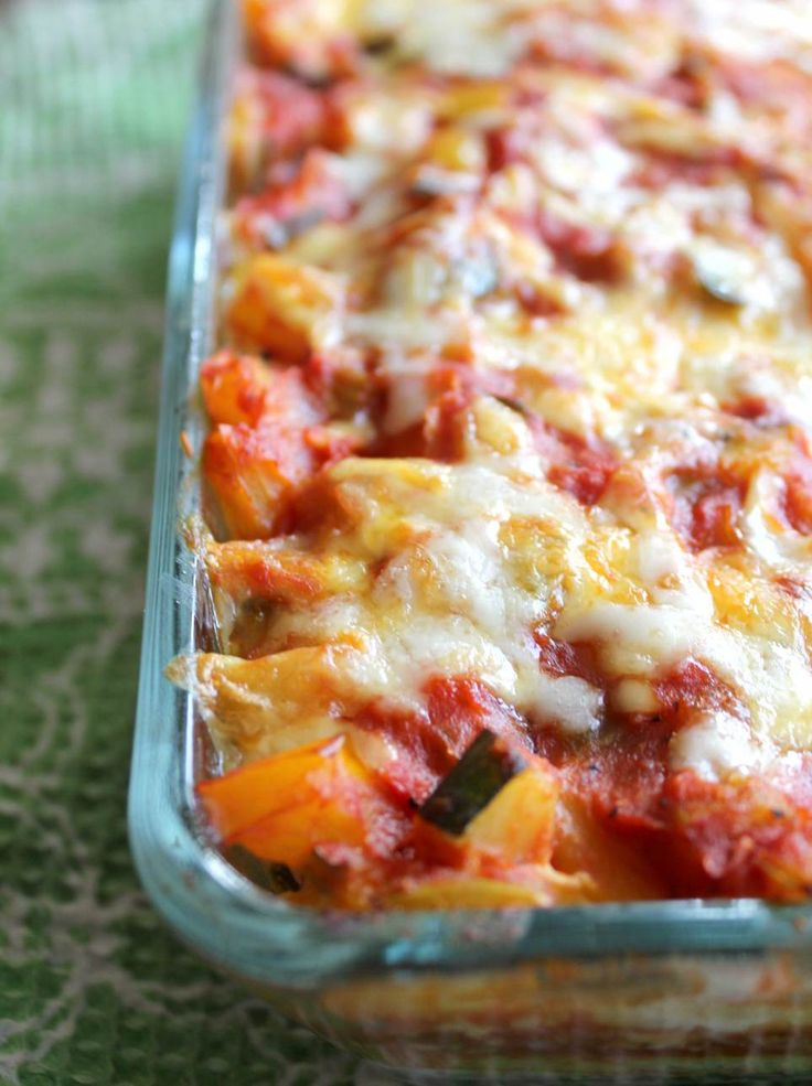 Polenta lasagna - 2 of my favs in one dish! Can't wait to try it!