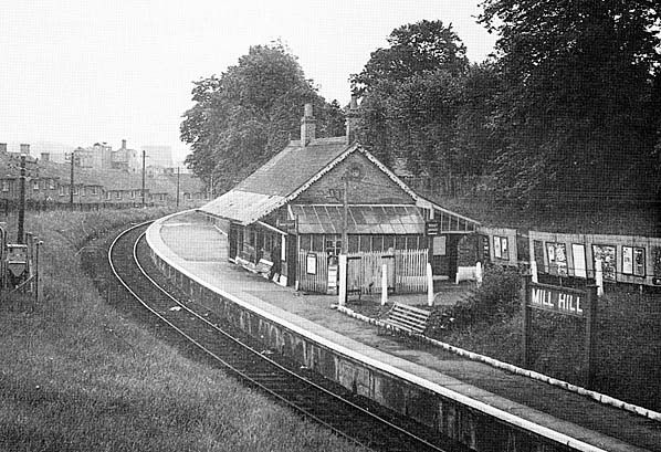 Disused Stations: Mill Hill Station