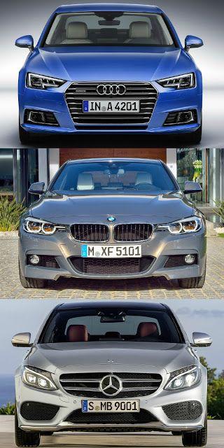 Audi #A4 S Line vs BMW 3 Series #MSport vs Mercedes C Class #AMG Pack