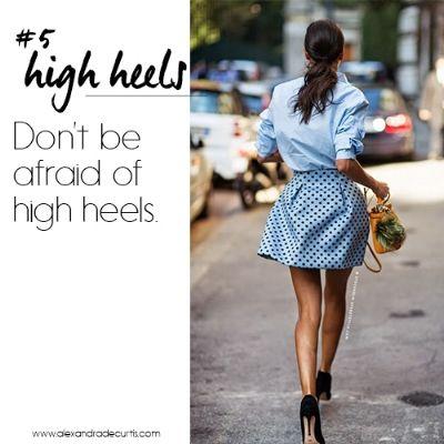 RULE #5 Don't be afraid of high heels. | How To Dress Like An Italian Woman - Magdalena Resasco
