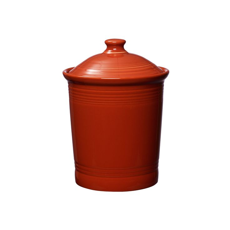25 best ideas about red kitchen canisters on pinterest