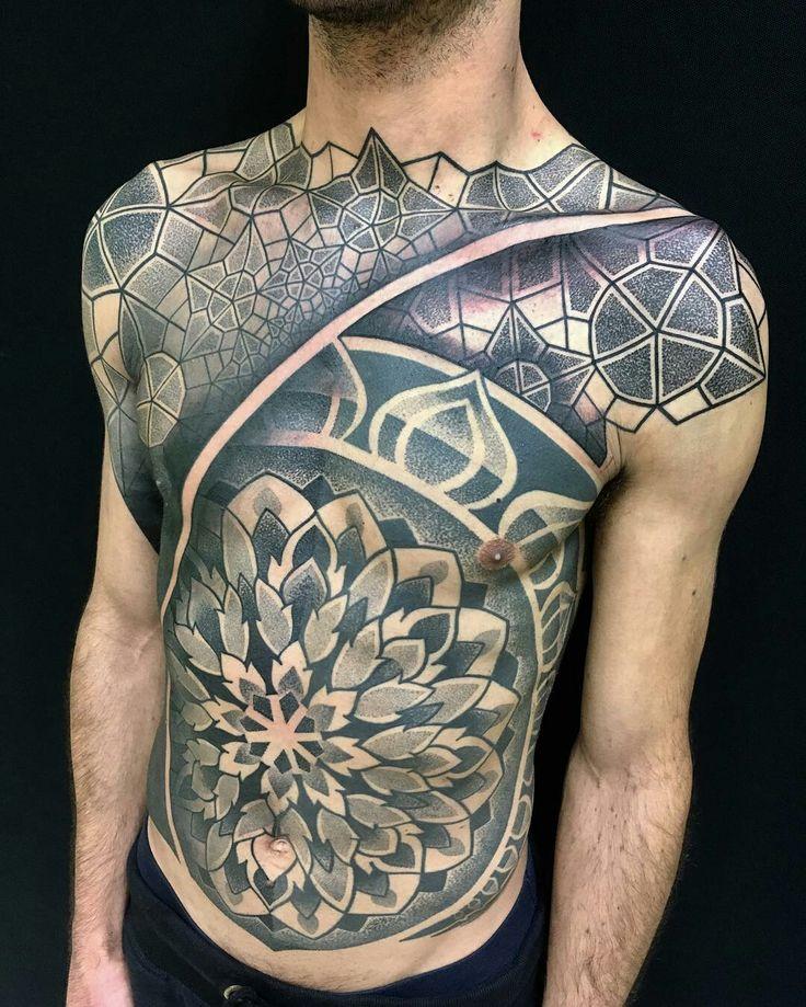 Tattoo done by: Pierliugi Delipieri #mandala #mandalatattoo #mandalas