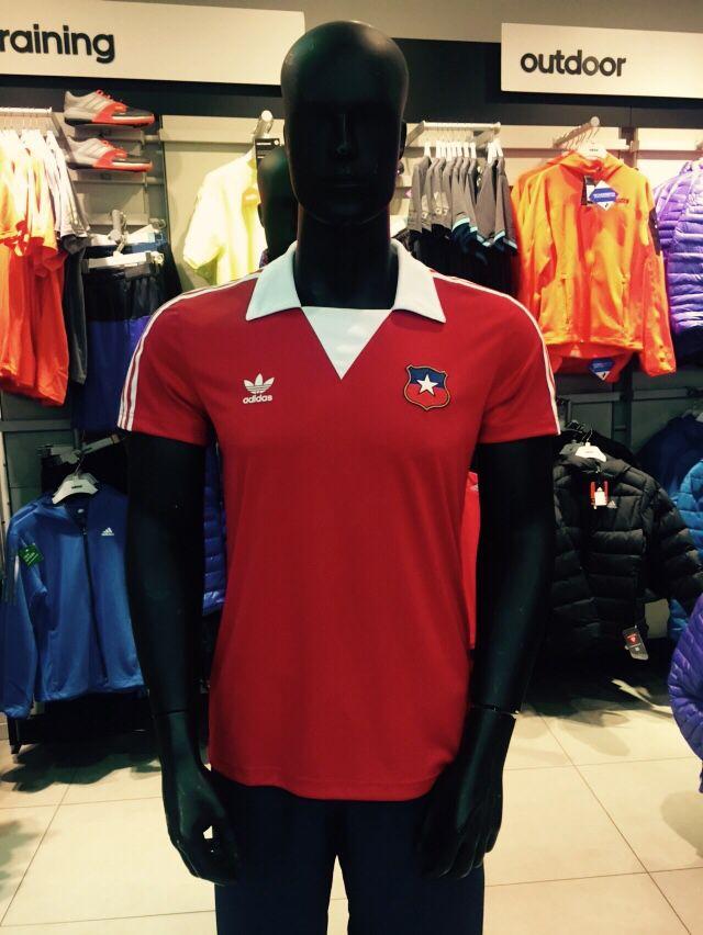 Camiseta de Fútbol Chile Adidas
