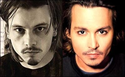 Skeet Ulrich and Johnny Depp