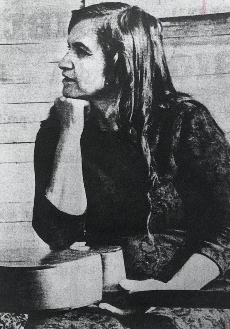 La Violeta Parra.