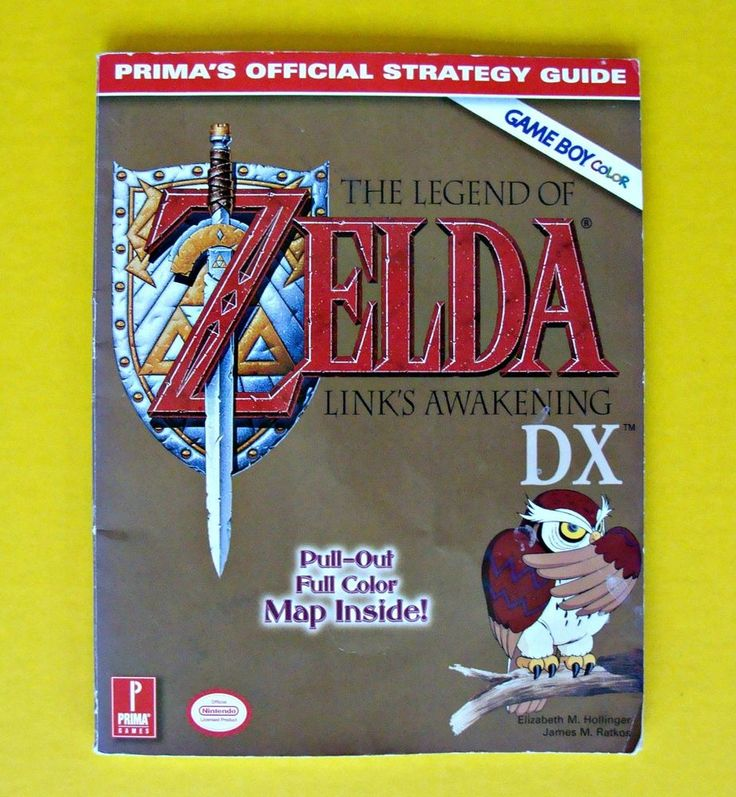 The Legend of Zelda Link's Awakening DX Game Boy Gameboy Color Strategy Guide