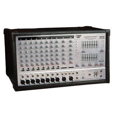 Pyle-Pro PMX1006 10 Channel 800 Watts Powered Stereo Mixer $278.94 (save $406.05) + Free Shipping