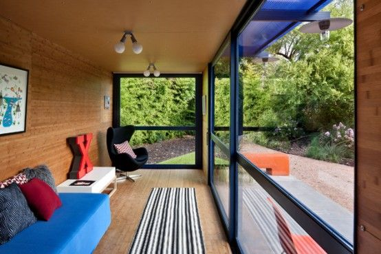 Container+Guest+House+With+Floor-To-Ceiling+Glass+Doors+and+Windows+by+Jim+Poteet