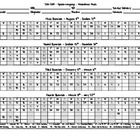 2014-2015 - Attendance Sheet in PDF form. For a copy of the word document please feel free to email me and I will email it to you directly. ...