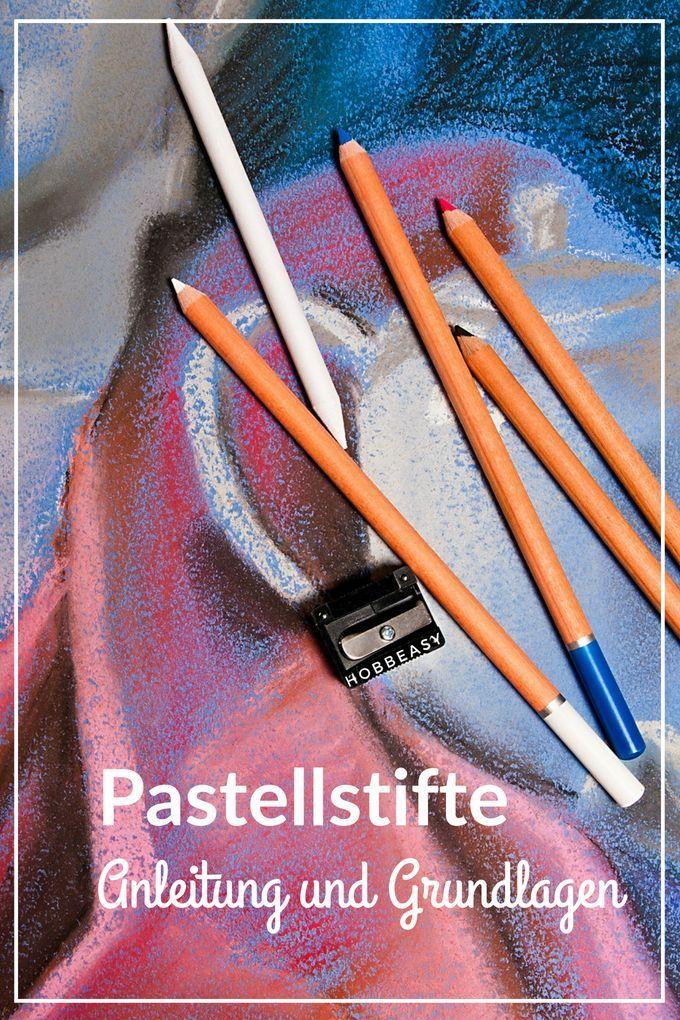 Pastell muss nicht unbedingt mit Kreide gemalt werden. Die Pastellstifte haben d