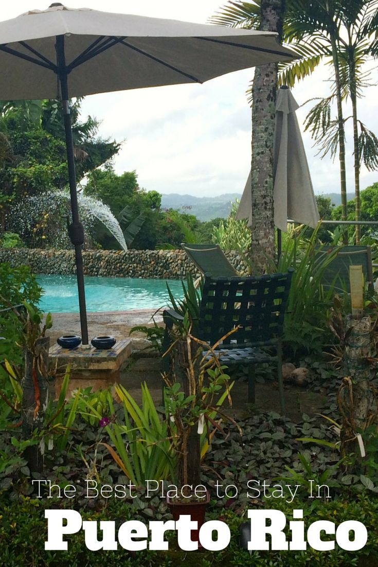 Looking for a unique, relaxing and inspiring place to stay in Puerto Rico. This is best place on the island.