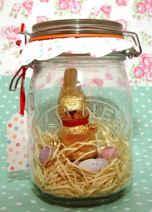 250 best kilner jar craft ideas images on pinterest mason jars an easter bunny kilner jar the perfect fun and useful gift use the kilner jar afterwards for saving your holiday pennies negle Choice Image