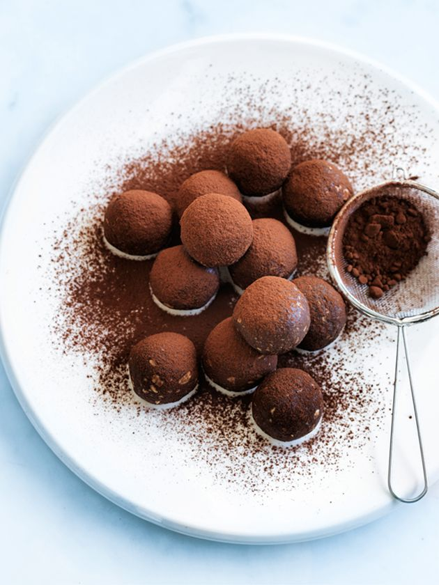 oat and coconut chocolate truffles from Donna Hay