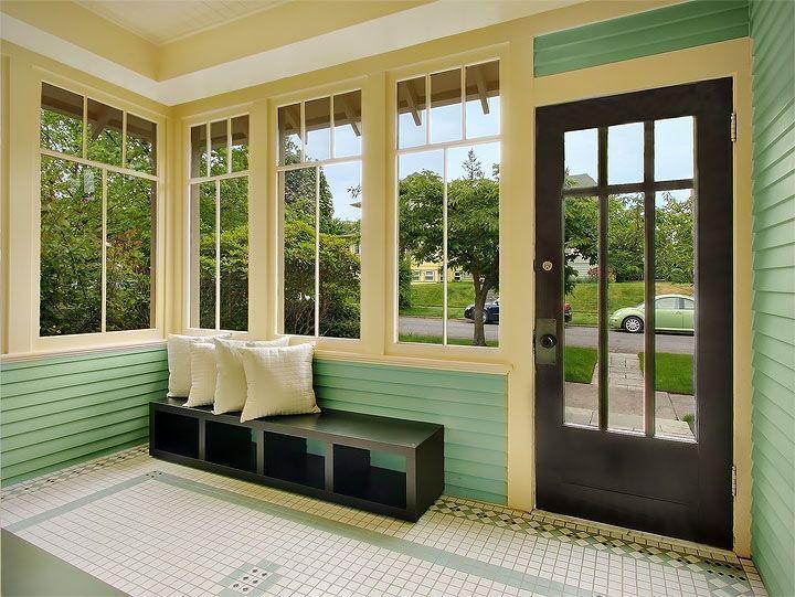 Покраска внутри веранды дома фото главная