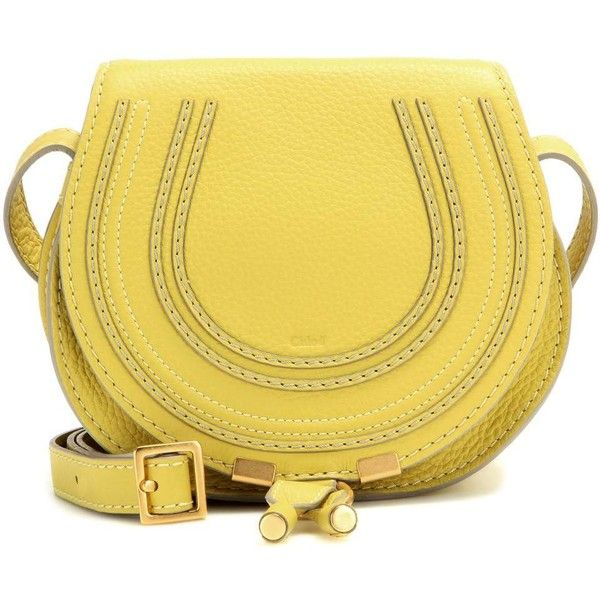 Chlo¨¦ Marcie Small Leather Shoulder Bag (\u20ac690) ? liked on ...